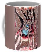 Zebras Eye - Abstract Art Coffee Mug