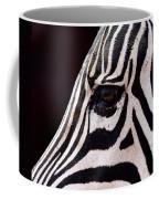 Zebras Eye Coffee Mug