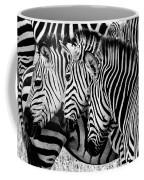 Zebras Triplets Coffee Mug