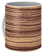 Zebrawood - Natural Abstract Coffee Mug