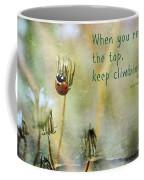 Zen Proverb Coffee Mug