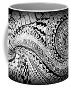 Zen Tangle 1 Coffee Mug
