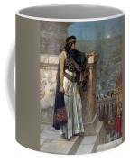 Zenobia's Last Look On Palmyra Coffee Mug by Herbert Gustave Schmalz
