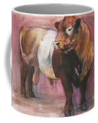 Zeus  Red Belted Galloway Bull Coffee Mug