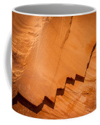 Zigzag Sandstone Coffee Mug