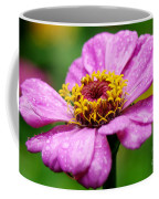 Zinnia In The Rain Coffee Mug