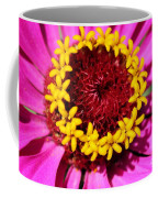 Zinnia Macro Coffee Mug