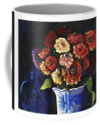 Zinnias Coffee Mug