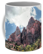 Zion Canyon Terrain Coffee Mug
