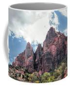 Zion Canyon Terrain Coffee Mug