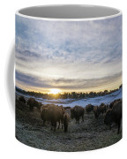 Zion Mountain Ranch Buffalo Herd Coffee Mug