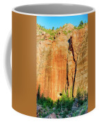 Zion Rock Wall Coffee Mug