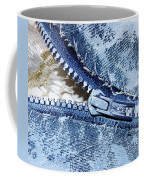 Zipper In Blue Coffee Mug