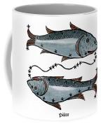 Zodiac: Pisces, 1482 Coffee Mug