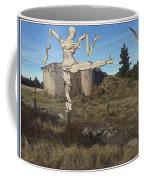 Zombie Near The Ruins Coffee Mug