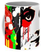 Zombie Queen Roses Coffee Mug