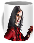 Zombie Shaking Severed Hand Coffee Mug