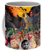 Zombie Snowmen Christmas Coffee Mug by Barry Kite
