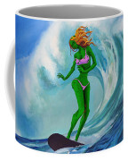 Zombie Surf Goddess Coffee Mug