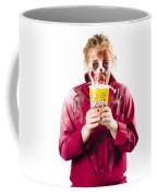 Zombie Woman With Popcorn Coffee Mug