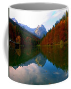 Zugspitz And Riessersee Garmish Germany Coffee Mug