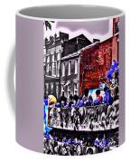Zulu Krewe In Red And Blue Coffee Mug