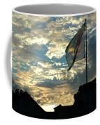 Zurich Griffin Flag At Sunset Coffee Mug