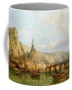 A View Of Dinant Coffee Mug