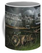 Abandoned Steam Locomotive  Coffee Mug