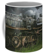 Abandoned Steam Locomotive  Coffee Mug