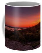 Acadia National Park Sunrise  Coffee Mug