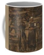 Albin Egger-lienz 1868 - 1926 The Ages Of Life Coffee Mug