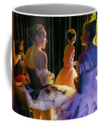 Ballerina Discussions Coffee Mug