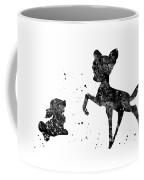 Bambi With Thumper Coffee Mug