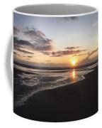 Beach Sunset, Blackpool, Uk 09/2017 Coffee Mug