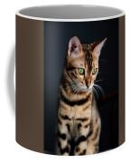 Bengal Cat Portrait Coffee Mug