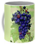 Blue Grape Bunches 6 Coffee Mug
