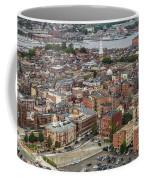 Boston Government Center, North End And Harbor Coffee Mug