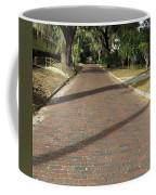 Brick Road In Palatka Florida Coffee Mug