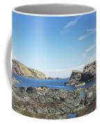 cliffs and coast at St. Abbs, Berwickshire Coffee Mug