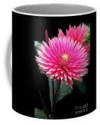 Hot Pink Dahlia  Coffee Mug