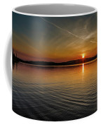 Dog Lake Sunset Coffee Mug