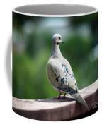 Dove On The Deck Coffee Mug