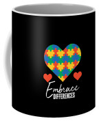 1 Embrace Differences Coffee Mug