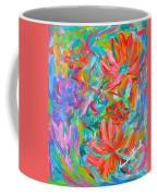 Flower Twirl Coffee Mug by Kendall Kessler