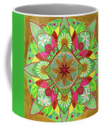 Flower Garden Mandala Coffee Mug