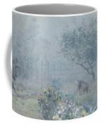 Foggy Morning, Voisins, 1874 Coffee Mug