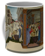 Four Scenes From The Early Life Of Saint Zenobius  Coffee Mug