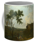 Holt Bridge On The River Dee  Coffee Mug