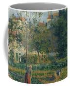Kitchen Garden At The Hermitage, Pontoise, 1879 Coffee Mug